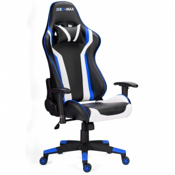 RG-Max Gaming Racing Recliner Chair - Blue