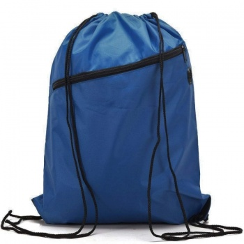 RayGar Drawstring Bags for School/Sport Pack of 10 - Royal Blue