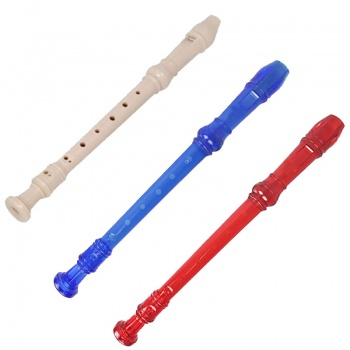 RayGar School Recorder 3 Piece Descant Soprano for Beginners