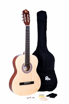 Rio 4/4 size (39'') Acoustic Classical Guitar - Natural