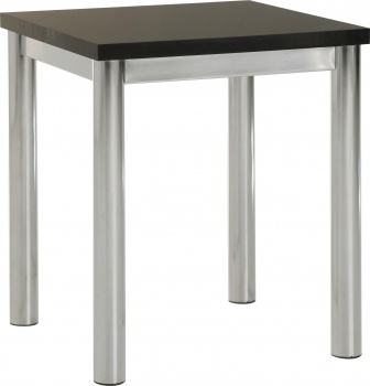Charisma Lamp Table - Black