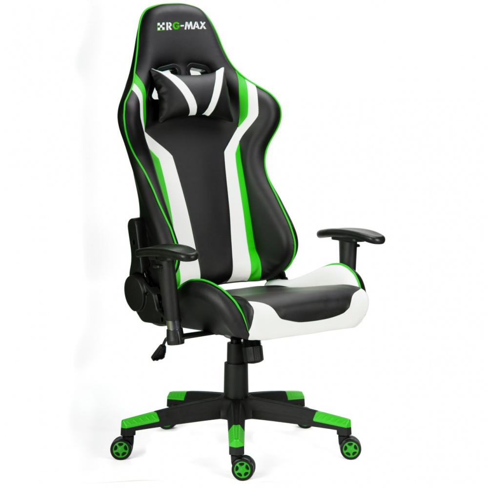 RG Max Gaming Racing Recliner Chair   Green