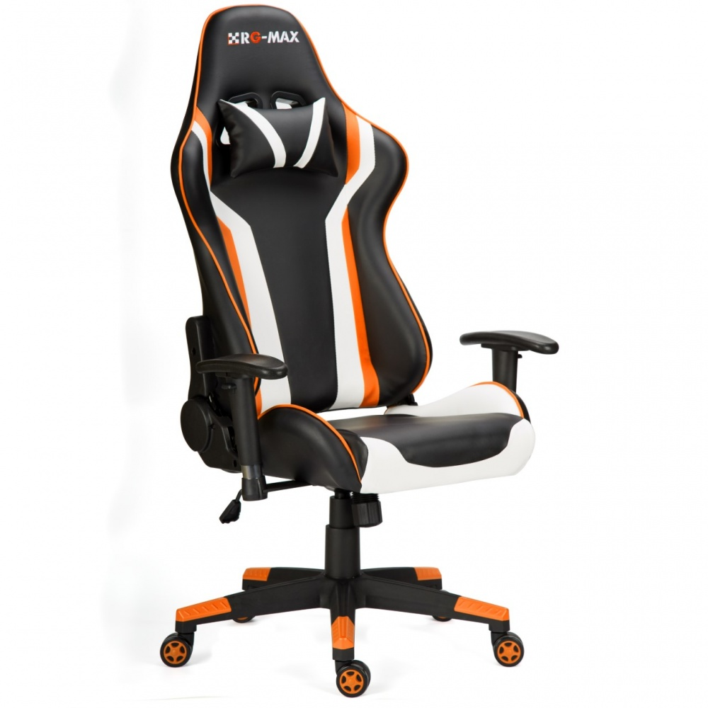 Rg Max Gaming Racing Recliner Chair Orange Www