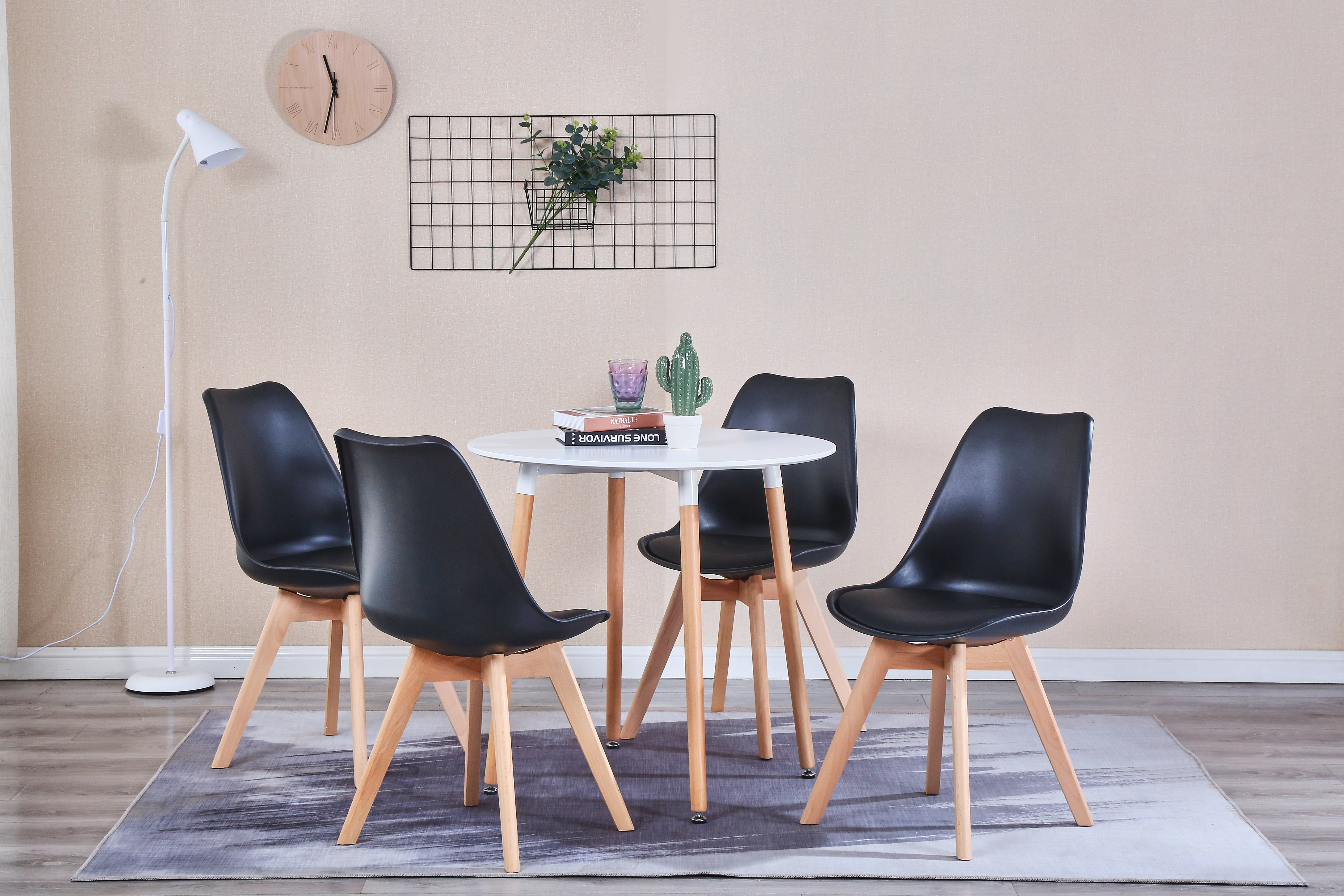 Pleasant Raygar Deluxe 4 Seater Dining Set With Table And Chairs Download Free Architecture Designs Parabritishbridgeorg