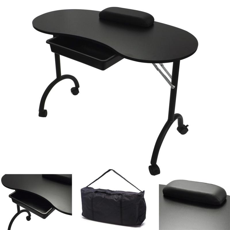 RayGar Manicure Nail Table - Black | www.raygardirect.com
