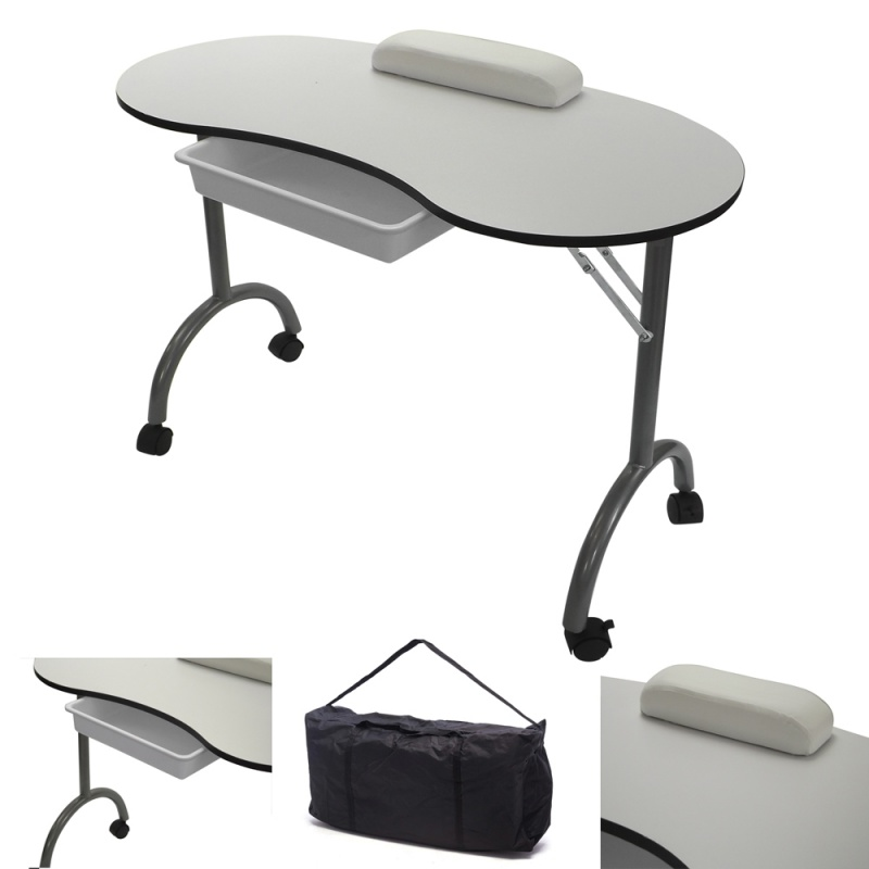 RayGar Manicure Nail Table - White | www.raygardirect.com