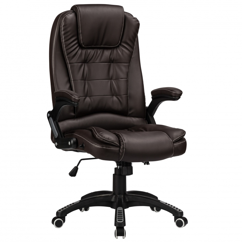 RayGar Luxury Faux Leather High Back Reclining Office Chair - Brown on cushy office chair, casual office chair, the ultimate office chair, desk chair, task chair, office desks, sitting office chair, ergonomic chair, pink office chair, microfiber office chair, living room office chair, executive chair, short person for office chair, indestructible office chair, office task chairs, sofa office chair, wood office chairs, leather office chair, mesh office chairs, executive office chair, lounge office chair, zero gravity office chair, best office chair, sliding office chair, lightweight office chair, reception chairs, ergonomic computer chair, fabric office chair, dining chair, slipcovered office chair, ergonomic office chair, stackable chairs, stacking office chair, lazy boy recliner office chair, for women short office chair, computer chair, swivel chair,