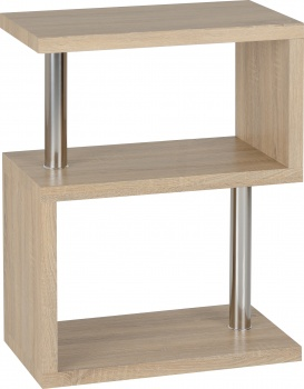 Charisma 3 Shelf Unit - Light Oak Veneer