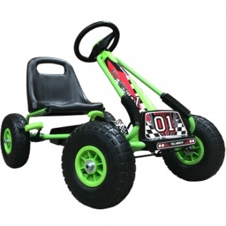 Kiddo Kids Racer Pedal Go-Kart 4-8 Years - Green