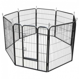 RayGar Heavy Duty 8 Panel Pet Dog Play Pen Run Enclosure