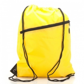 RayGar Drawstring Bags for School/Sport Pack of 10 - Yellow