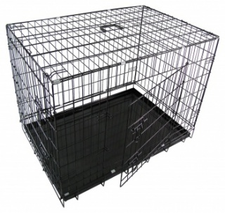 RayGar Folding 2 Door Pet Kennel & Carrier
