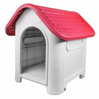 RayGar Plastic Pet Kennel - Red