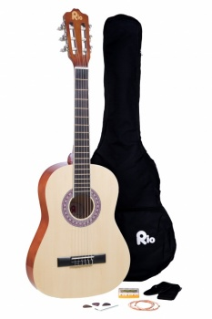 Rio 3/4 size (36'') Junior Classical Guitar - Natural
