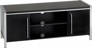 Charisma 2 Door TV Unit - Black