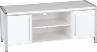 Charisma 2 Door TV Unit - White