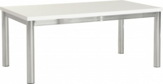 Charisma Coffee Table - White